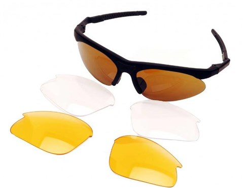 Madison Wishbones Triple Set Cycling Glasses 2018 | Briller