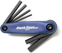 Park Tool AWS11C Fold-up Hex Wrench Set: 3-6/8/10 mm
