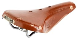 Brooks B17 Titanium Comfort Saddle Light Brown