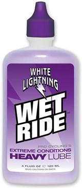 White Lightning Wet Ride Squeeze Bottle