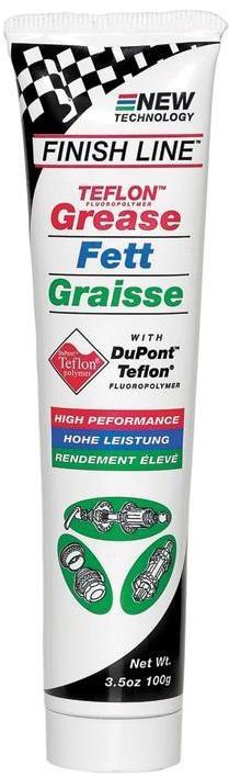Finish Line Teflon Grease   Rengøring og smøremidler