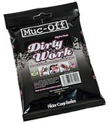 Muc-Off Dirty Work Wipes Pack of 9