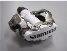 Shimano M520 SPD Clipless MTB Pedals White