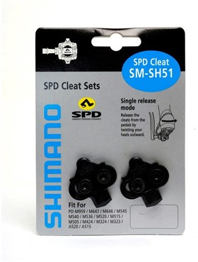 Shimano SH51 Release MTB SPD Cleats