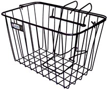 Adie Medium Front Basket With Holder