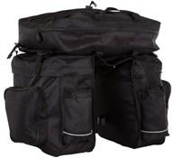 Product image for ETC Triple 600D Material Triple Pannier Bags