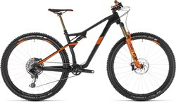 Cube Ams 100 C:68 TM 29er Mountain Bike 2019 - Full Suspension MTB