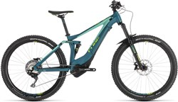 "Cube Sting Hybrid 140 Race 500 27.5"" Womens 2019 - Electric Mountain Bike"