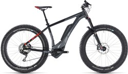 Cube Nutrail Hybrid 500 Fat Bike 2019 - Electric Mountain Bike