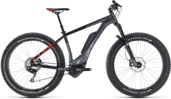 Cube Nutrail Hybrid 500 Fat Bike 2019 - Electric Mountain Bike