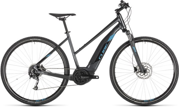 Image of Cube Cross Hybrid One 400 Womens 2019 - Electric Hybrid Bike