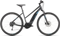 Product image for Cube Cross Hybrid One 400 Womens 2019 - Electric Hybrid Bike