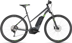 Product image for Cube Cross Hybrid Pro 400 Womens 2019 - Electric Hybrid Bike