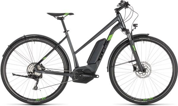 Cube Cross Hybrid Pro 400 Allroad Womens 2019 - Electric Hybrid Bike   City
