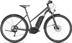 Product image for Cube Cross Hybrid Pro 400 Allroad Womens 2019 - Electric Hybrid Bike