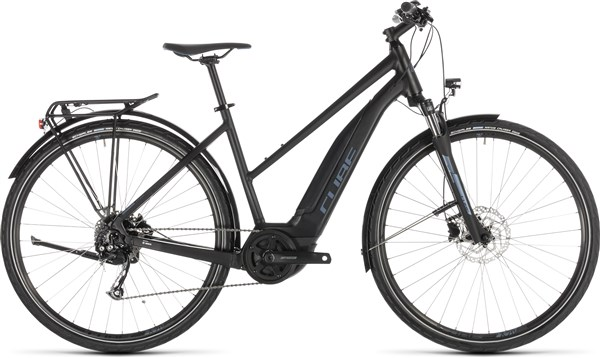 Cube Touring Hybrid One 500 Womens 2019 - Electric Hybrid Bike | City-cykler