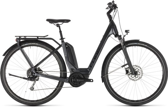 Cube Touring Hybrid 500 Easy Entry 2019 - Electric Hybrid Bike | City