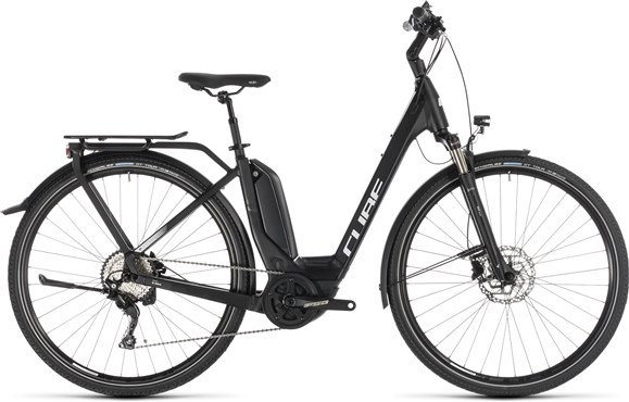 Cube Touring Hybrid Pro 500 Easy Entry 2019 - Electric Hybrid Bike | City-cykler