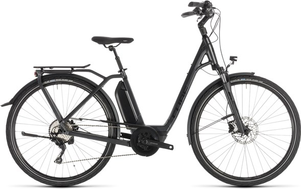 Cube Town Sport Hybrid Pro 400 Easy Entry 2019 - Electric Hybrid Bike | City-cykler