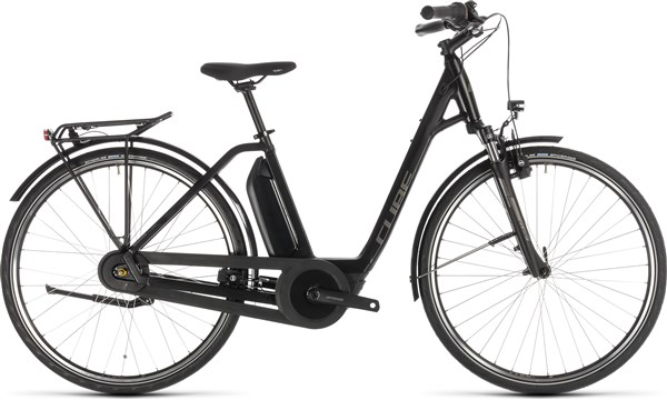 Cube Town Hybrid One 500 Womens 2019 - Electric Hybrid Bike | City-cykler