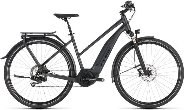 Cube Touring Hybrid SL 500 Kiox Womens 2019 - Electric Hybrid Bike | City-cykler