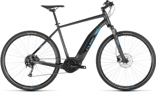 Cube Cross Hybrid One 400 2019 - Electric Hybrid Bike   City