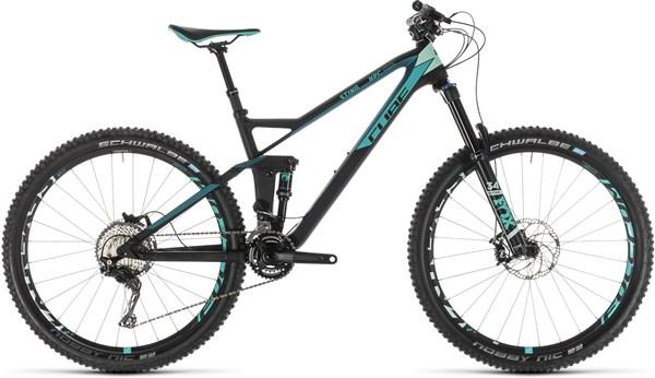 "Cube Sting WS 140 Hpc Race 27.5"" Womens Mountain Bike 2019 - Trail Full Suspension MTB"