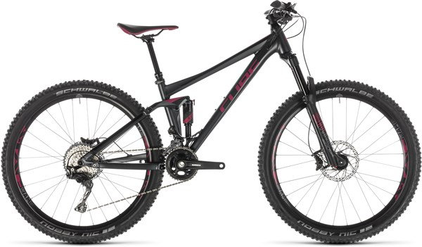 "Cube Sting WS 120 Pro 27.5""/29er Mountain Bike 2019 - Trail Full Suspension MTB 
