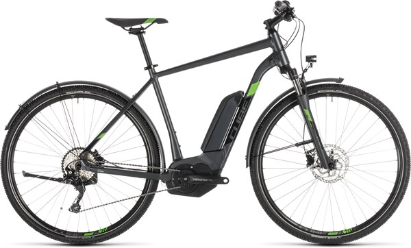 Cube Cross Hybrid Pro 400 Allroad Womens 2019 - Electric Hybrid Bike   City-cykler