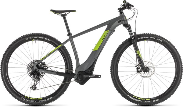"Cube Reaction Hybrid Eagle 500 27.5""/29er 2019 - Electric Mountain Bike"