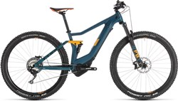 "Cube Stereo Hybrid 120 Hpc SL 500 Kiox 27.5""/29er 2019 - Electric Mountain Bike"