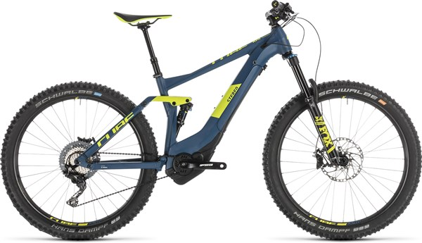 "Cube Stereo Hybrid 140 SL 500 Kiox 27.5"" 2019 - Electric Mountain Bike"