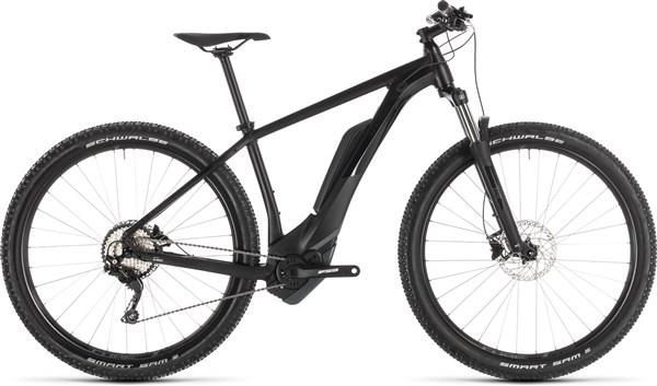 Cube Reaction Hybrid Pro 400 Black Edit 2019 - Electric Mountain Bike | Mountainbikes