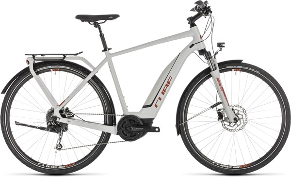 Cube Touring Hybrid 400 2019 - Electric Hybrid Bike | City