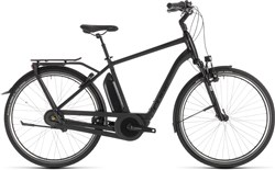 Cube Town Hybrid EXC 400 Black Edition 2019 - Electric Hybrid Bike