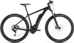 "Cube Reaction Hybrid Pro 500 Black Edit 27.5""/29er 2019 - Electric Mountain Bike"