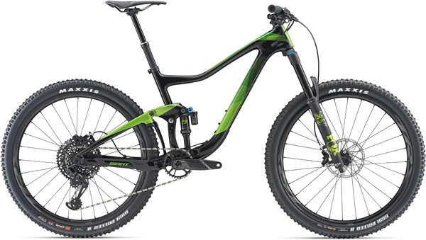"Giant Trance Advanced 1 27.5"" Mountain Bike 2019 - Trail Full Suspension MTB 