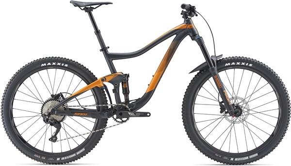 "Giant Trance 3 27.5"" Mountain Bike 2019 - Trail Full Suspension MTB"