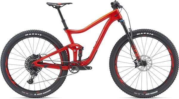 Giant Trance Advanced Pro 2 29er Mountain Bike 2019 - Trail Full Suspension MTB
