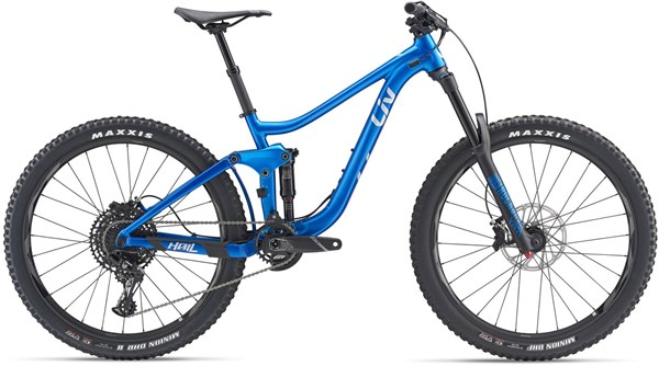 "Liv Hail 2 27.5"" Womens Mountain Bike 2019 - Enduro Full Suspension MTB"