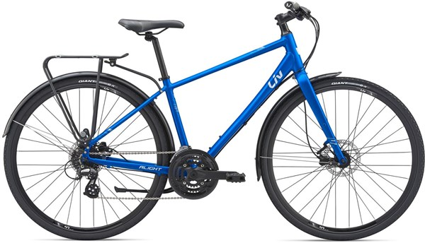 Liv Alight 2 City Disc Womens 2019 - Hybrid Sports Bike | City-cykler