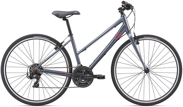 Giant Liv Alight 3 Womens Sports Hybrid Bike  2019 S - Charcoal