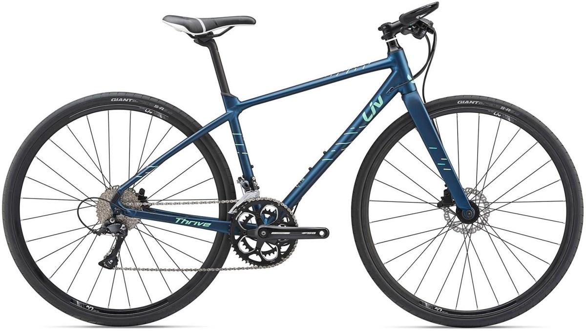 Liv Thrive 2 Womens 2019 - Hybrid Sports Bike | City-cykler
