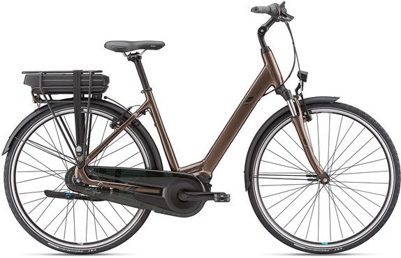Giant Entour E+1 Low Step Through 2019 - Electric Hybrid Bike