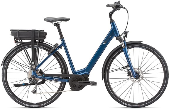 Giant Entour E+ 1 Disc Low Step Through 2019 - Electric Hybrid Bike