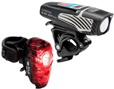 NiteRider Lumina 1200 Oled Boost/Solas 250 Combo Light Set