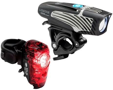 NiteRider Lumina 1200 Boost/Solas 250 Combo Light Set