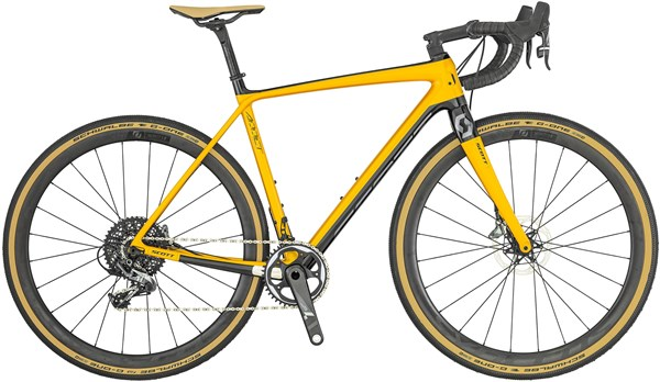 Scott Addict Gravel 10 2019 - Road Bike | Racercykler