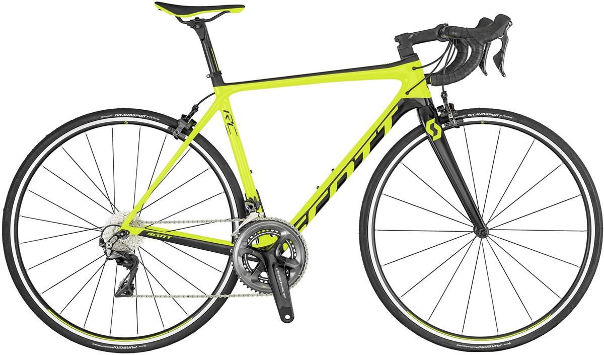 Scott Addict RC 10 Disc 2019 Carbon Road Bike Yellow | Road bikes