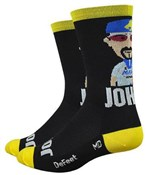 "Defeet Aireator 6"" Rich Mitch Collaboration Socks"